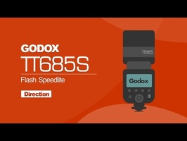 Godox TT685S speedlight - using direction for photography