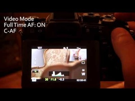 Olympus OM-D E-M1 Video Touch Focus