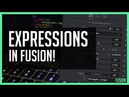 Expressions In Fusion Tab!  - DaVinci Resolve 15 Tutorial