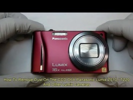 Panasonic Lumix ZS8, ZS10, TZ18, TZ20, TZ22 Clean The CCD, Replace The LCD